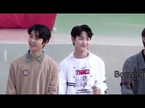 The Boyz Kevin and Hwall (kehwall) cute moment