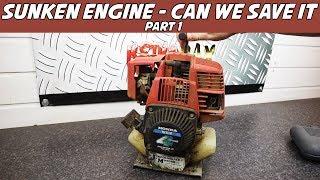 Sunken Honda WX10 Engine Restoration The Stripdown (Part 1)