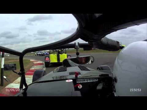 BaTSport Snetterton 200 Race 1 2012 - BookaTrack.com Caterham R300 Championship