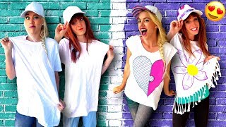 Clever Ways To Customize Your T-Shirts and More! DIY Life Hacks, Craft Ideas & Hair Hacks!