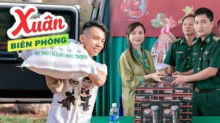 Minh Nhựa Và Vợ Mina Pham Cùng Trao Gửi Quà Đến Bộ Đội Biên Phòng