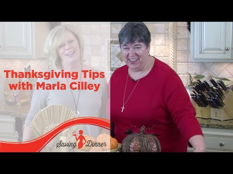 Thanksgiving Tips with Saving Dinner's Leanne Ely and FlyLady Marla Cilley