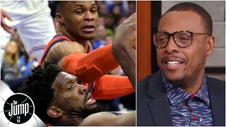 Joel Embiid-Russell Westbrook feud has Paul Pierce fired up | The Jump