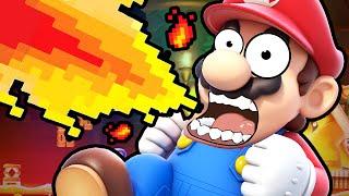 Super Mario Maker   THE IMPOSSIBLE RUN!!