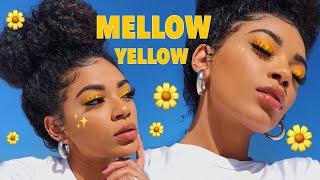 MELLOW YELLOW MAKEUP LEWK! | jasmeannnn