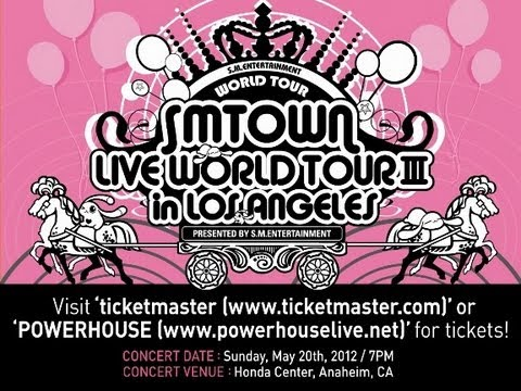 SMTOWN LIVE WORLD TOUR 3 in LA_INFORMATION