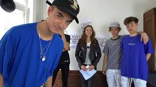 Why Don't We in SHOCK !! /interview - Stefania
