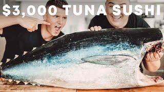 I Turned A $3,000 Tuna Into Sushi