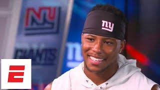 Saquon Barkley exclusive interview: On Giants, Eli Manning, his daughter and more | ESPN