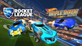 Rocket League - Hot Wheels Triple Threat DLC Pack Trailer