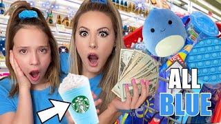 BLUE ONLY NO BUDGET SHOPPING SPREE! 💙