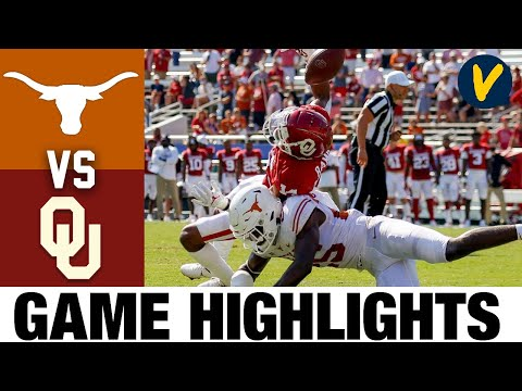 #22 Texas vs Oklahoma Highlights | Week 6 2020 College Football Highlights