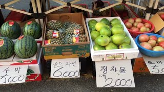 Cuộc sống ở Hàn Quốc: Ngày họp chợ vào mùa đông.겨울에 장날.