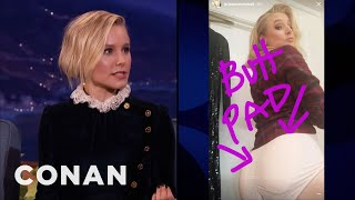 Kristen Bell Likes Big Juicy Buns  - CONAN on TBS