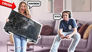 IGNORING My CRUSH For 24 HOURS To See How She REACTS PRANK **FUNNY CHALLENGE**🤫🙉|Hayden Haas