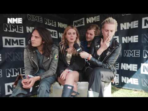 90 Second Interview: Wolf Alice