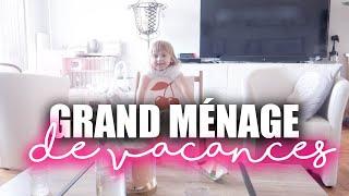 GRAND MÉNAGE DE VACANCES - FAMILY VLOG