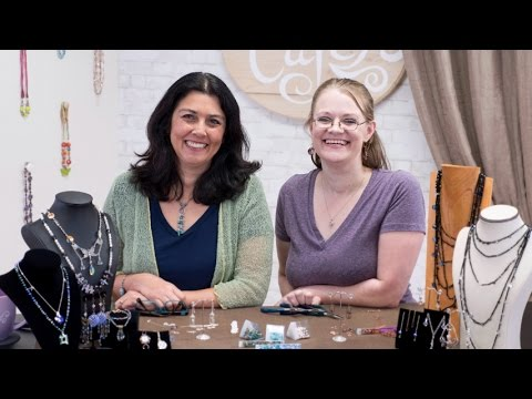 Artbeads Cafe - Meet the Team: Make Birdcage Earrings with Cynthia Kimura and Jen