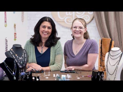 Artbeads Cafe - Meet the Team: Make Birdcage Earrings with Cynthia Kimura and Jen