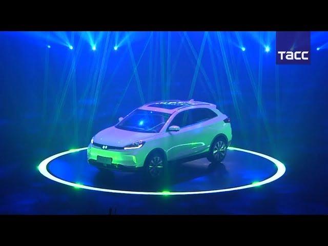 Китайский электромобиль Weltmeister EX5 - конкурент американской Tesla