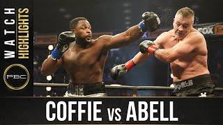 Coffie vs Abell HIGHLIGHTS: November 7, 2020 | PBC on FOX
