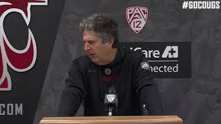 Mike Leach Press Conference 9/25