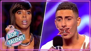 Rudest Auditions...EVER? | X Factor, Got Talent & Idols | Top Talents