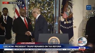 🔴 LIVE: President Trump Speech on Tax Reform from The White House 12/13/17