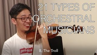 21 Types of Orchestral Players