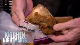 Owner Defends Having Rotting Food In Her Fridge   Kitchen Nightmares