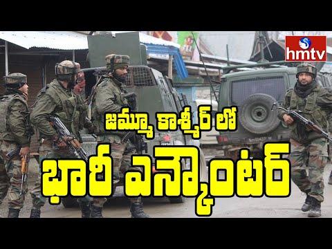 Three terrorists killed in encounter in Jammu and Kashmir