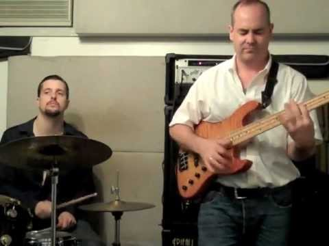 Here is a video of cool grooves for bass and drums