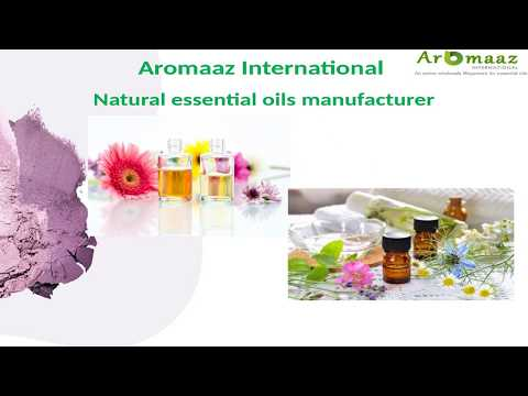 Aromaaz International Presents best essential oils for good skin and health