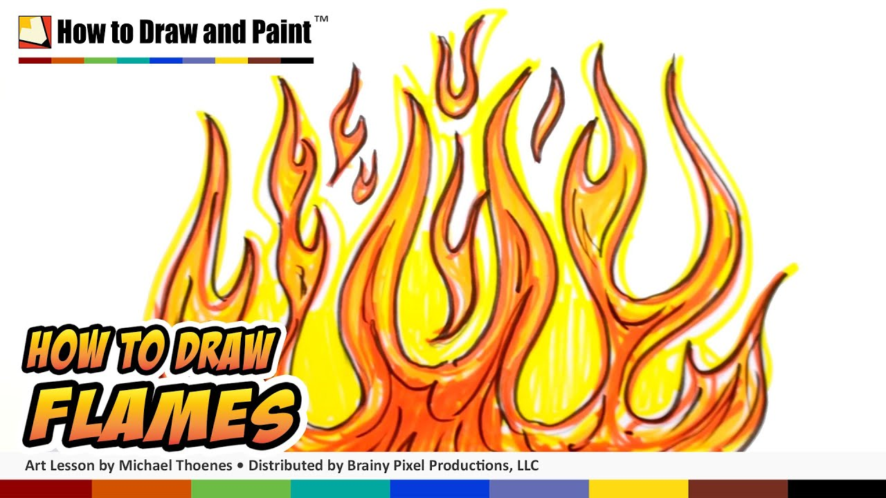 fire drawings design - photo #32