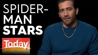 Jake Gyllenhaal and Tom Holland on Spider-Man: Far From Home   Today Show Australia
