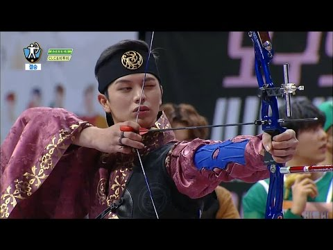 【TVPP】SungJae(BTOB),Hyuk(VIXX) –Archery Final, 성재(비투비), 혁(빅스)  - 양궁 결승 @2016 Idol Star Championships
