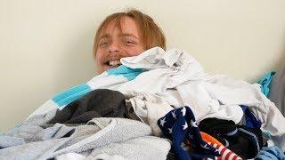 laundry boy shares good news