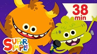 Down By The Spooky Bay | + More Halloween Songs for Kids | Super Simple Songs - YouTube