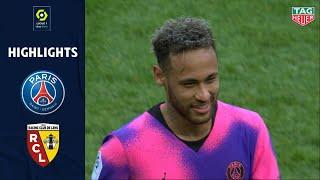 PARIS SAINT-GERMAIN - RC LENS (2 - 1) - Highlights - (PSG - RCL) / 2020-2021