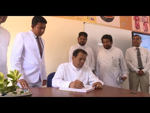 President visited Minuwangoda Reggie Ranathunga Science College | Ru News