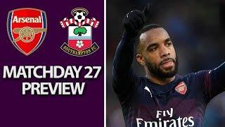 Arsenal v. Southampton | PREMIER LEAGUE MATCH PREVIEW | 02/24/2019 | NBC Sports
