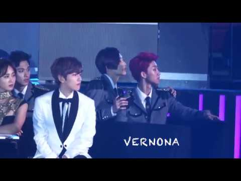 20161226 Gayo Dajeon SEVENTEEN Reaction to BIGBANG