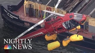 Five Dead After Helicopter Crash In New York City | NBC Nightly News