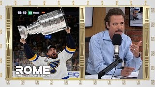 St.Louis Blues Win The Greatest Trophy In Sports | The Jim Rome Show