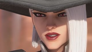 "OVERWATCH Animated Short Movie (w/ NEW Hero Ashe ""Reuinion"") - Full All Cutscenes Movie"