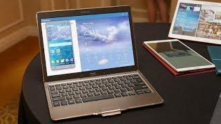 نظرة على الجهاز اللوحي Samsung Galaxy Tab S نسخة 10.5 أنش بتقنية سوبر أموليد