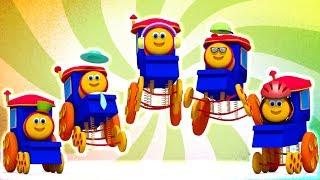 Bob le train | Cinq petits bébés | rime en français | Five Little Babies | Bob The Train Française
