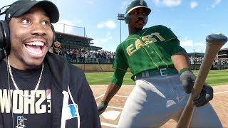 HITTING 1ST HOME RUN & RIDING HORSE CELEBRATION! MLB The Show 18 Road To The Show Gameplay Ep. 3