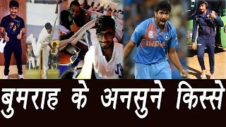 Jasprit Bumrah: Unknown facts about India's fast bowler..
