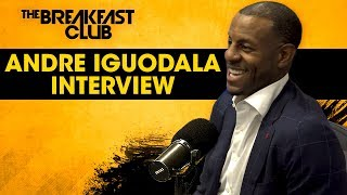 Andre Iguodala Talks Warriors Dynasty, Kevin Durant, Mark Jackson + His New Book 'The Sixth Man'
